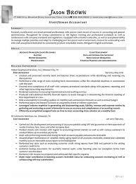 Staff Senior Accountant Resume Example