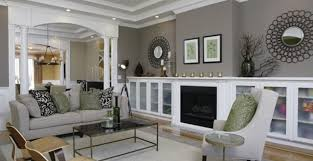 wohnzimmer streichen idee wandfarbe grautöne freshouse