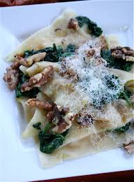 Pumpkin Ravioli Filling Ricotta by Pumpkin Ravioli With Salted Spinach And Toasted Walnuts The