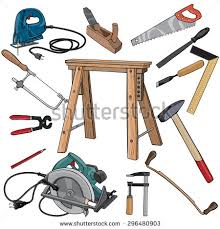 Chainsaw Clipart Carpentry Tool 11