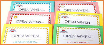 open when letters boyfriend