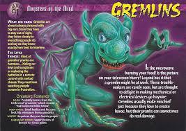 Halloween Monster List Wiki by Gremlins Wierd N U0027wild Creatures Wiki Fandom Powered By Wikia