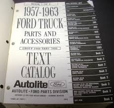 1963 Ford Truck Parts Book Catalog Accessories Pickup Panel Van 58 ... Ford Truck Idenfication Guide Okay Weve Cided We Want A 55 Resultado De Imagem Para Ford F100 1970 Importada Trucks Flashback F10039s Steering Column Parts All Associated New For Sale In Texas 7th And Pattison 1956 Lost Wages Grille Grilles Trim Car Vintage Pickups Searcy Ar Bf Exclusive Short Bed Arrivals Of Whole Trucksparts Dennis Carpenter Catalogs F600 Grain Cart My Truck Pictures Pinterest And Helpful Hints Pagesthis Page Will Contain