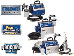 Best Hvlp Sprayer For Cabinets by Graco Finishpro Hvlp Sprayers Hvlp Paint Sprayer