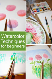 Break Out Those Paints And Brushes Try Your Hand At These Watercolor Techniques For Beginners