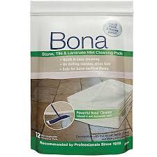 bona皰 12 pack tile laminate cleaning pads bed bath