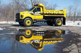 Ford Built A Real Life Tonka Dump Truck Based On The 2016 F-750 [w ...