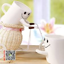 2015 Novelty Design Ceramics Hug Me Mug For Sweetheart 2 Pcs Per Set Cute Lover Coffee Milk Cup Free Shipping In Mugs From Home Garden On Aliexpress