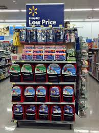 Retail Display Ideas And Capabilities Endcap Walmart Cerritos CA 10 08 14