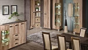 wohnzimmer set kleiderschrank kommode vitrine tisch