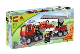 Amazon.com: LEGO Duplo Legoville Fire Truck (4977): Toys & Games