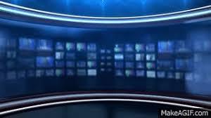 Breaking News Background Virtual Se
