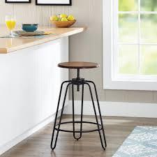 Chair: Adjustable Height Swivel Bar Stool Wanderlust ...