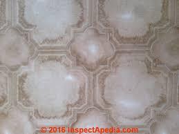 Finland Sheet Flooring Possible Asbestos C InspectApedia KK 2016