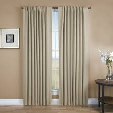 Absolute Zero Blackout Curtains Canada by Absolute Zero Solid Blackout Thermal Rod Pocket Single Curtain