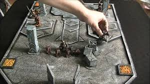 3d Printed Dungeon Tiles by At Last The Secret To Affordable Dungeon Tiles Is Revealed Rpg