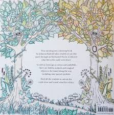 Adult Coloring Book Enchanted Forest