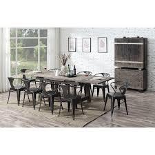 Pine Trestle 5 Piece Dining Room Set