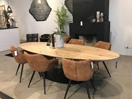 esstisch dining oval 300 x 120 cm eiche massivholz natur