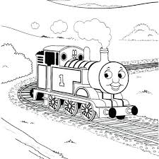 Thomas The Tank Engine Coloring Pages James Online Free Printable Games