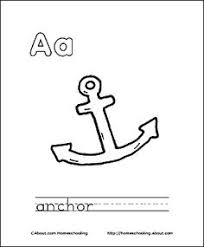 Print Out This Coloring Book About The Letter A For Your Child