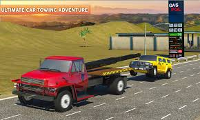 Gas Station & Car Service Mechanic Tow Truck Games For Android - APK ...