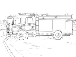 Click To See Printable Version Of Fire Truck Coloring Page