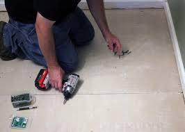 Preparing Subfloor For Tile Youtube by How To Install Bathroom Floor Tile How Tos Diy