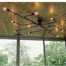 details zu 40w e27 4 6 8 way deckenleuchte wohnzimmer industrie le restaurant hängele