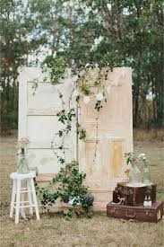 Creative Rustic Vintage Wedding Ceremony Backdrop Ideas