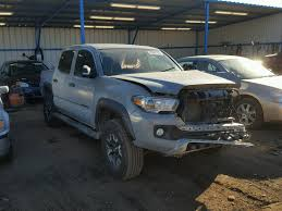 3TMCZ5AN4GM003386 | 2016 GRAY TOYOTA TACOMA DOU On Sale In CO ...