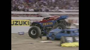 100 Spiderman Monster Truck Freestyle SpiderMan Jam World Finals 2001 YouTube