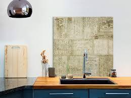 murando spritzschutz glas für küche 60x60 cm küchenrückwand