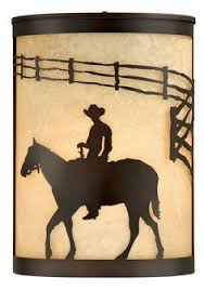 steel partners cowboy sunset 1 light outdoor sconce finish