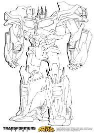 8 Dessins De Coloriage Transformers Prime A Imprimer à Imprimer