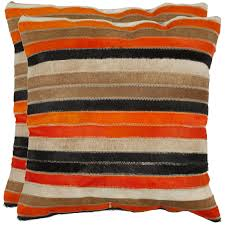 Orange Decorative Pillows Kmart