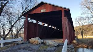 Yoder Sheds Mifflinburg Pa by Columbia County Covered Bridge Tour 3 Northeast