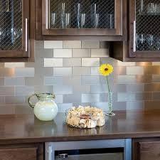 backsplash ideas marvellous metallic backsplash tiles peel stick