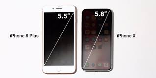 iPhone X screen size versus iPhone 8 Plus Business Insider