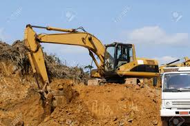 100 Earth Mover Truck And Working Stock Photo Picture And Royalty Free