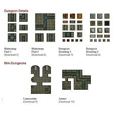 looking for dungeon tiles but not sure where to get them dungeon
