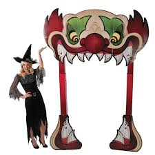Halloween Inflatable Archway by Gemmy Airblown Inflatable X Archway Ghost House Halloween