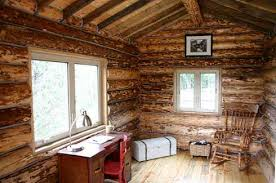 Log Cabin Style Mobile Homes Well Rounded Walls On Wheels