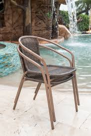 Panama Jack Cafe Stacking Patio Dining Chair & Reviews | Wayfair Patio Chairs At Lowescom Contemporary Ding Chair Stackable Recyclable Product And Modern Lowes Round And Ding Outdoor Costco Alinum Depot Noble House Dover Multibrown Stackable Wicker Chair Mercury Row Corrales Stacking Reviews Wayfair Plastic Herman Miller California White Furnish Vifah 3d 2 Included In Outdoor Chairs Backydinajarcom Trade Winds Restaurant With Centauro Cantilever Couture