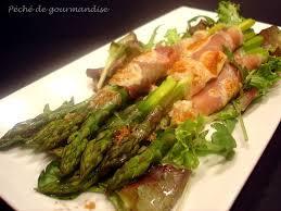 cuisine asperge asperges vertes au jambon de parme gratinées au parmesan péché