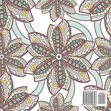 Gorgeous Patterns Swirls Designs Detailed Square Coloring Book For Grownups Sacred Mandala And Books Adults Volume 48