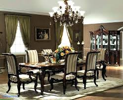 High End Formal Dining Room Sets Table Cherry Set Traditional