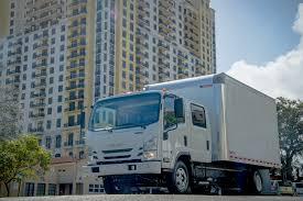 100 Crew Cab Box Truck Isuzu NPR MJ Nation