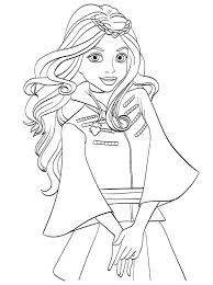 Coloring Pages Descendants 2 To Print