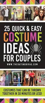 Quick Costume Ideas For Couples EasyCostumeIdeas CouplesCostumeIdeas TheDatingDivas